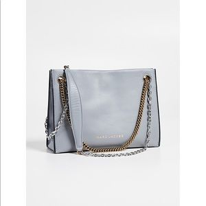 Marc Jacobs Double Link 27 Leather Shoulder Bag
